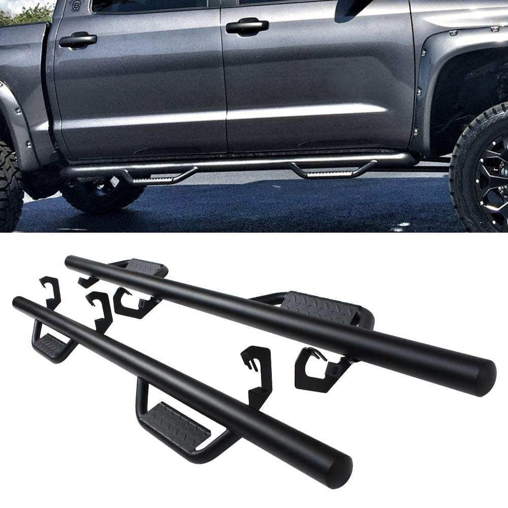 A&K Nerf Bars for Toyota Tundra CrewMax Cab 2007-2020