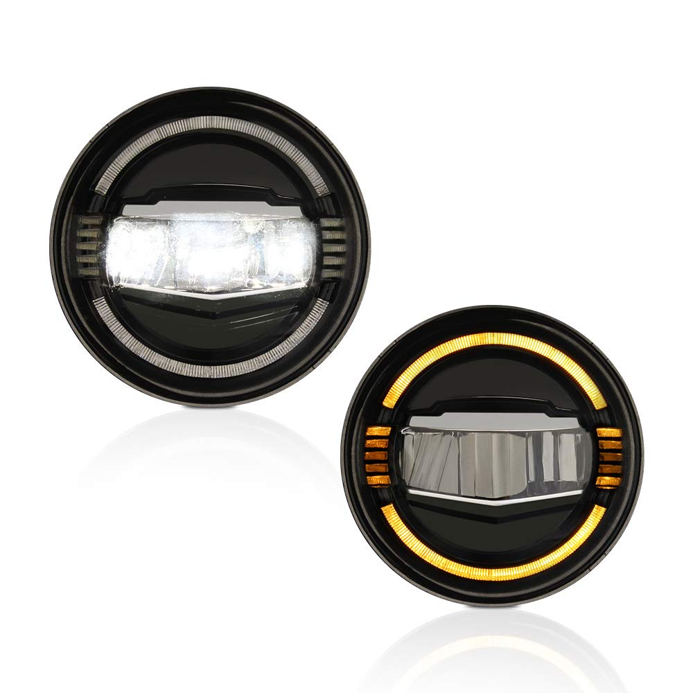 A&K Led Headlight Assembly for Jeep Wrangler 2007-2017