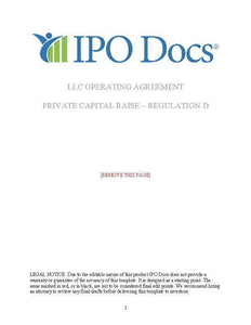 LLC Operating Agreement_Page_01