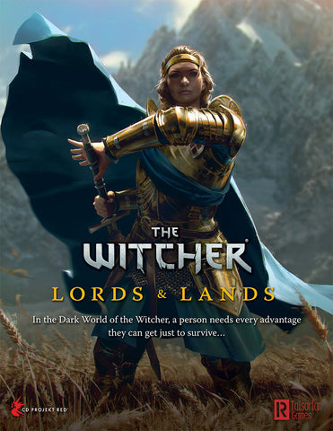Lords and Lands GM Screen: The Witcher RPG (T.O.S.) -  R Talsorian Games