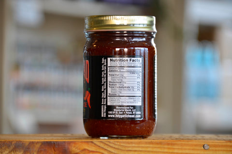 Image of 6-Pack Garlic Head SPICY Barbecue Sauce