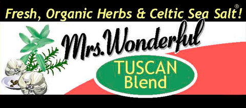 Mrs. Wonderful TUSCAN Salt Blend