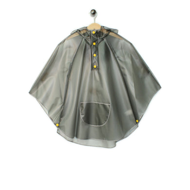 16-803-1K - Kids - Poncho - Grey
