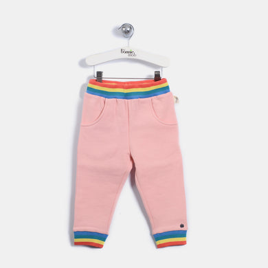 L-ELMA - 70'S Bunny Trousers - Kids Girl - Dusty pink