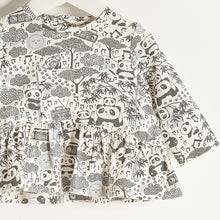 将图片加载到图库查看器,BABE - Girls Long Sleeve Frill Top - Grey