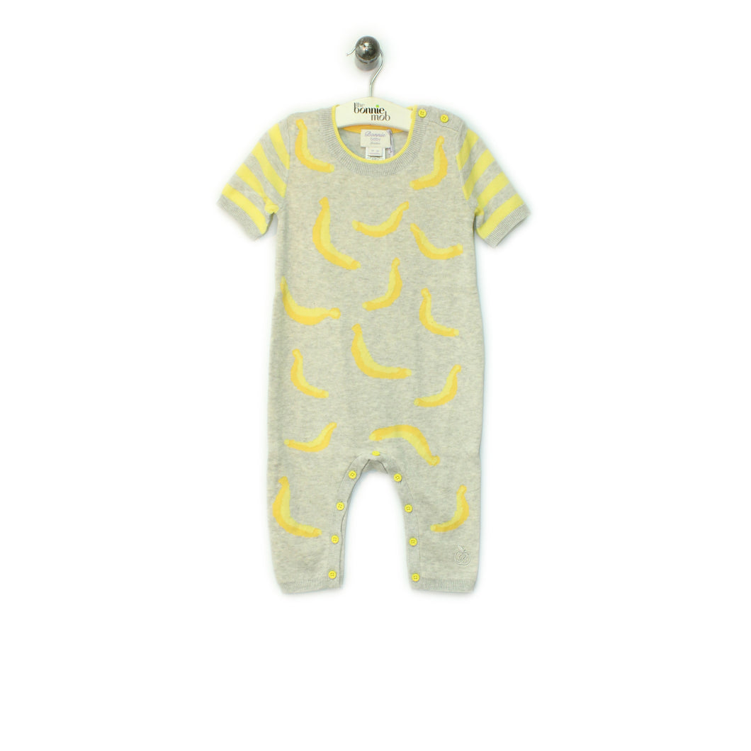 BBA62A - Baby - Playsuit - GREY