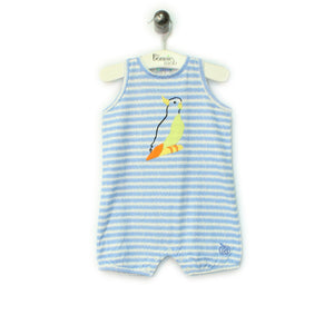 BBA-127 - Baby - Playsuit - BLUE