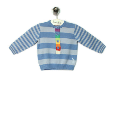 BB086A - Baby - Top - BLUE