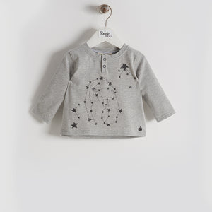 BBA16140 - Baby/Kids - Top - GREY