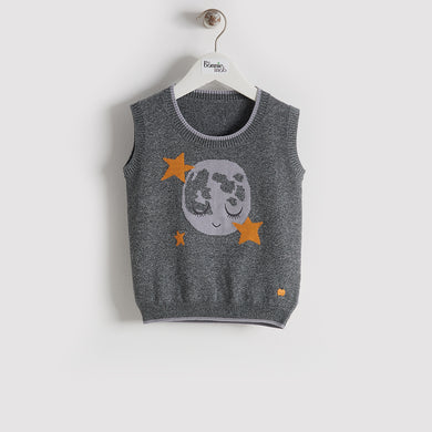 BBA16164 - Kids - Vest - GREY