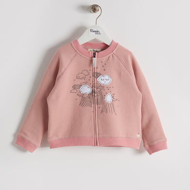 BBA16187K - Kids - Cardigan - BLUSH