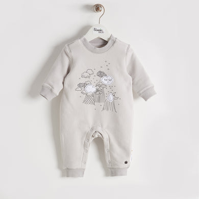 BBA16188 - Baby - Playsuit - GREY