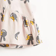 将图片加载到图库查看器,BELL - Bunny Print Sleeveless Kids Dress - Sand Bunny