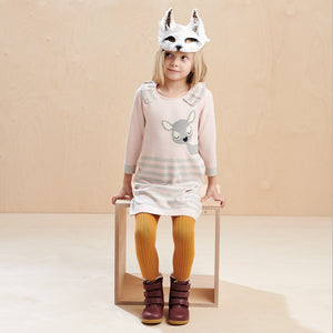 BRAMBLE - Kids - Dress - Bambi Intarsia