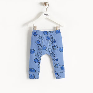 BUCHAN - Baby - Legging - BLUE SUNNIES