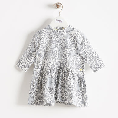BUNTY - KIDS - DRESS - GREY