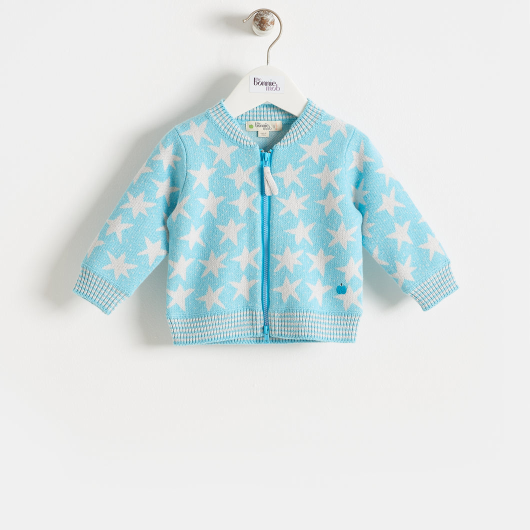 CAPELLA - BABY - CARDIGAN - PALE BLUE