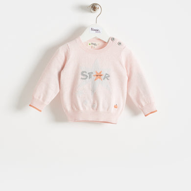 COMET - BABY - SWEATER - PALE PINK