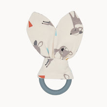 将图片加载到图库查看器,COMFORT - Baby - Teether Ring - Baby Deer Print