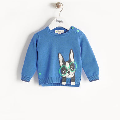 DANE - Baby - Sweater - Blue