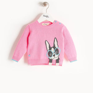 DANE - Baby - Sweater - Pink