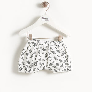 DEGAS - Printed Baby Bloomer Shorts - Monochrome print