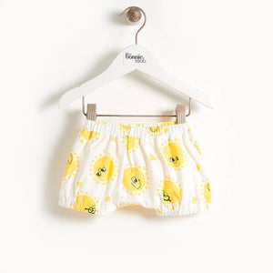 DEGAS - Printed Baby Bloomer Shorts - Sunshine Print