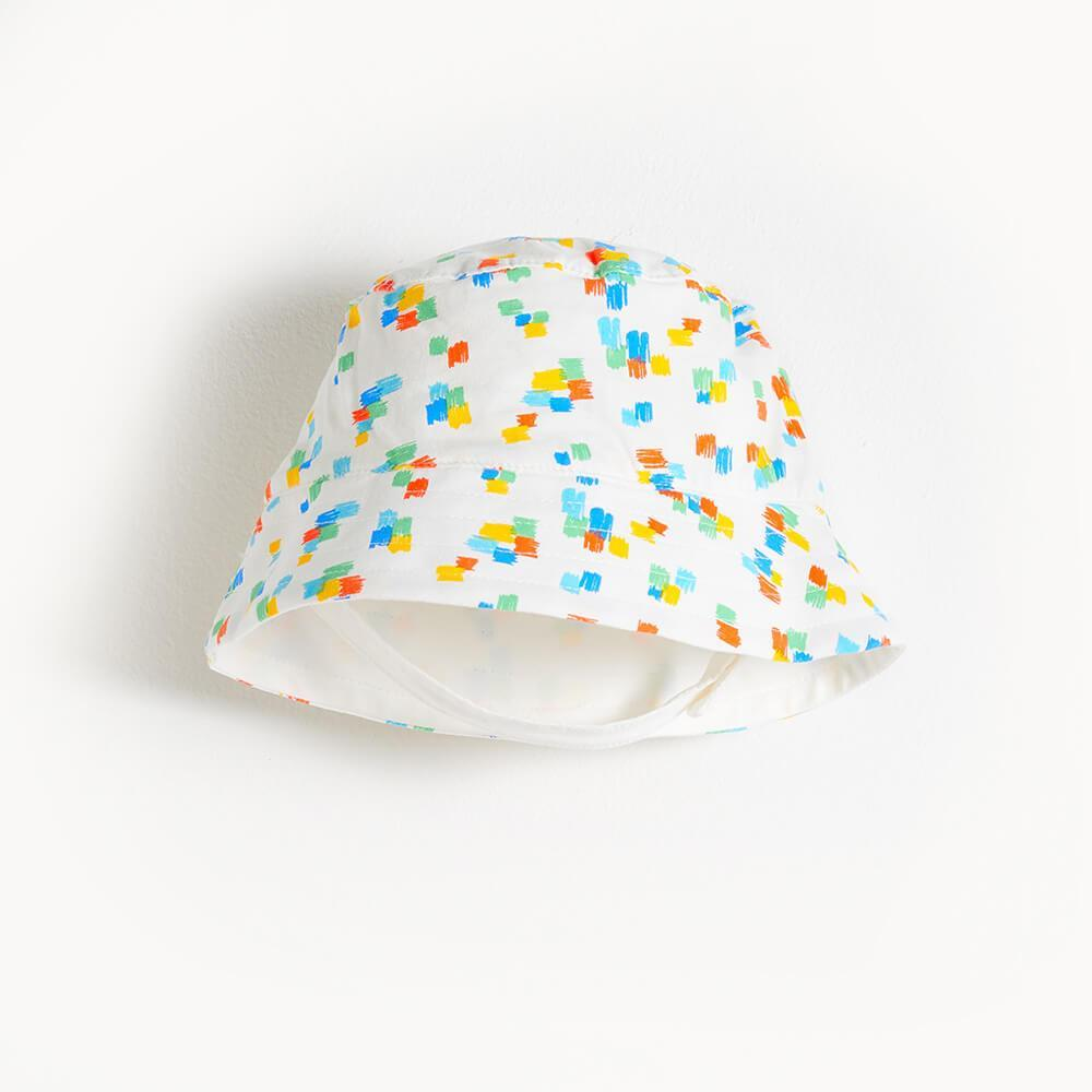 DIXON - Printed  Kids Sun Hat - Multicolour