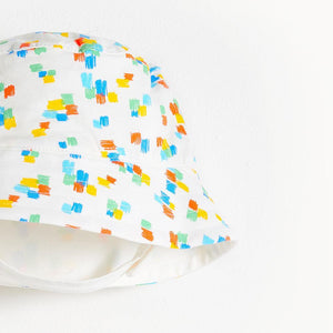 DIXON - Printed  Baby Sun Hat - Multicolour
