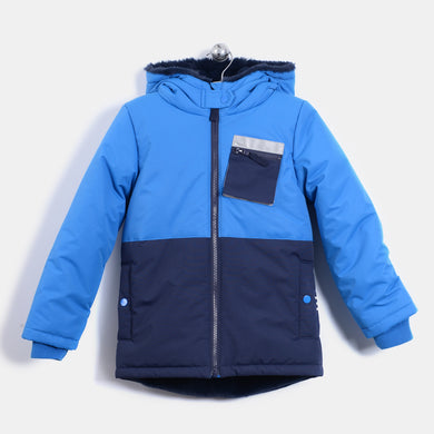 L-KITTY - BABY - JACKET - BLUE