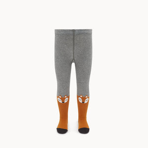 FANTASTIC - Baby -Fox Face Tights - Ginger