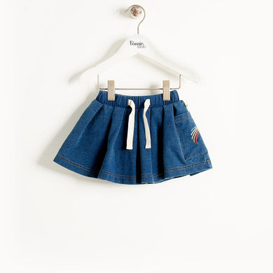 FLORENCE - Kids - Skirt - DENIM