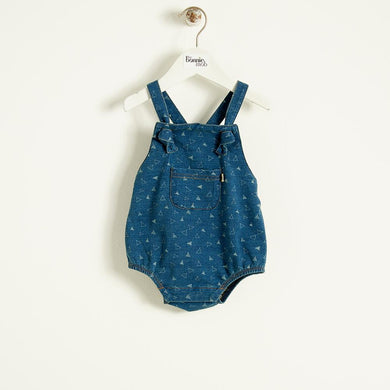 FUNK - Baby - Playsuit - DENIM TEE-PEE PRINT