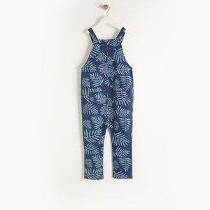 HILO - Baby - Dungaree - DENIM PALM PRINT