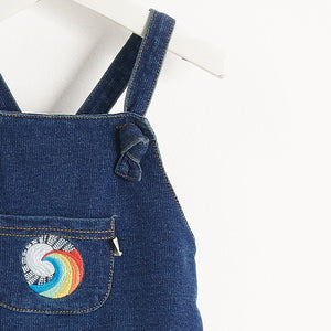HONOLULU - Baby - ROMPER - PLAIN DENIM
