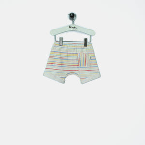 L-MASON - Kids - Shorts - RAINBOW STRIPE