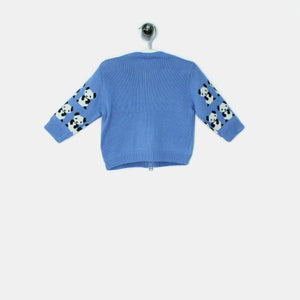 PADDY - Kids - Cardigan - BLUE