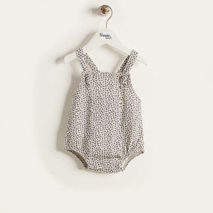 JAZZY - Baby - DUNGAREE - Grey