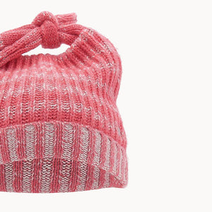 JOHN - Kids Chunky Knitted Hat  - MELON
