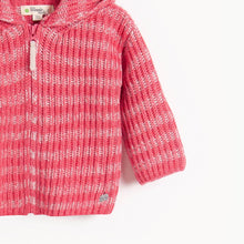 将图片加载到图库查看器,JUDE - Kids Chunky Knitted Cardigan  - MELON