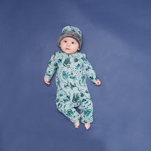 將圖片載入圖庫檢視器 KOOL - Printed Cat Playsuit - Baby Unisex - Sand cat print