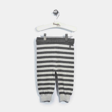 L-ACE-Stripe Mix And Match Trouser-Baby-Grey/Charcoal