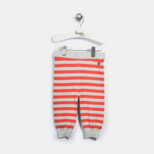 将图片加载到图库查看器,L-ACE-Stripe Mix And Match Trouser-Kids Girl-Grey/Red