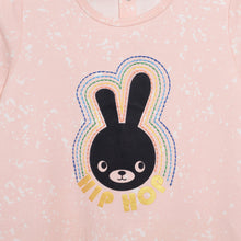 将图片加载到图库查看器,L-BRIE-Hip Hop Bunny Dress-Baby Girl-Blush