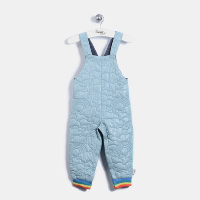 L-BEVERLY - BABY - DUNGAREE - VINTAGE BLUE