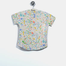 將圖片載入圖庫檢視器 L-CARL-Rainbow Tortoise T-shirt-Kids-Splatter