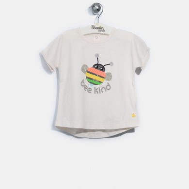 L-ELLIE-Bee Happy T-Shirt-Baby-Putty