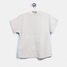 将图片加载到图库查看器,L-FRANKIE-Fringe Face T-shirt-Kids-Putty