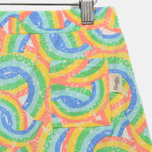 将图片加载到图库查看器,L-GEORGE-Rainbow Print Comfy Shorts-Kids-Rainbow