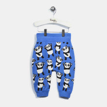 將圖片載入圖庫檢視器 L-GEORGIE-Panda Repeat Trouser-Kids-Denim